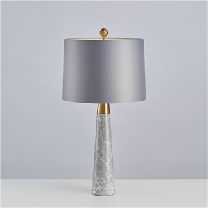 Contemporary Simple Table Lamp Cone Fixture Table Lamp Bedside Study Room Gray Desk Light
