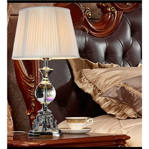 Contemporary Simple Table Lamp Special Resin Crystal Fixture Table Lamp Bedroom Living Room Desk Light