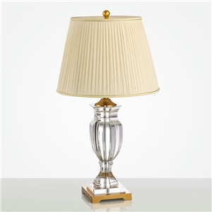 Contemporary Simple Table Lamp Iron Crystal Trophy Fixture Table Lamp Bedroon Living Room Desk Light