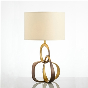 Contemporary Simple Table Lamp Unique Fixture Copper Table Lamp Bedside Living Room Desk Light