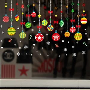Contemporary Plain Wall Sticker Removable Jingling Bell Window Sticker Waterproof PVC Sticker