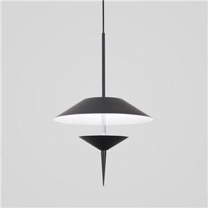 Contemproary Simple LED Pendant Light Umbrella Shape Stoving Varnish LED Pendant Light Bedroom Living Room Light