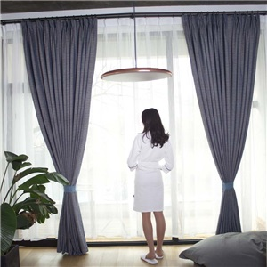 American Simple Curtain Solid Chenille Curtain Thermal Bedroom Living Roon Fabric