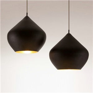 Contemporary Simple Pendant Light Stoving Varnish Jar Shape Pendant Light Dining Room Light