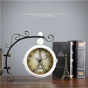 Eiffel Tower Wall Clock Non Ticking Wall Clock
