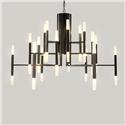 Contemporary Simple Chandelier Electroplating LED Pendant Light Living Room Bedroom Dining Room Light