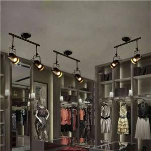 Industrial Retro Style Stoving Varnish Spot Light 2-light Bar Cafe Living Room