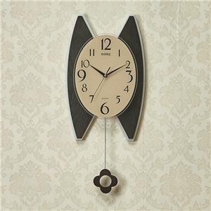 Modern Pendulum Wall Clock Special Wooden Mute Wall Clock A/B Options