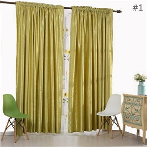 Flower Jacquard Curtain American Contrast Curtain Livning Room Bedroom Study Fabric