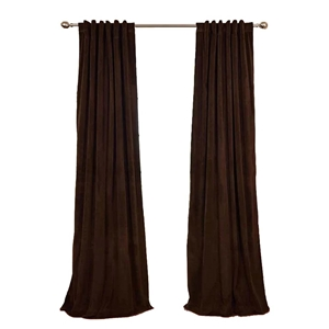 Solid Velvet Blackout Curtain Nordic Minimalist Curtain Living Room Bedroom Study Fabric