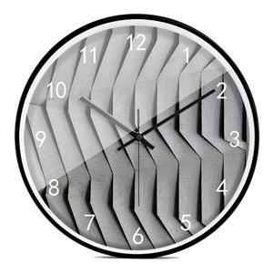 Modern Ripple Wall Clock Designer Mute Wall Clock 12inch