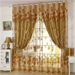 Modern Sheer Curtain Minimalist Jacquard Living Room