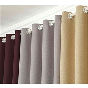 Window Curtains for Living Room Modern Simple Thicker Linen Blackout Curtains Advanced Customization