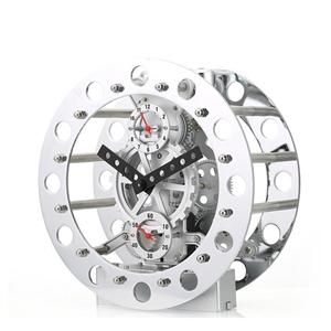 Modern Mechanical Gear Tabletop Clock 8inch