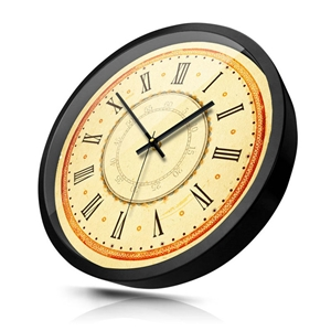 Roman Numerals Wall Clock Special Vintage Mute Wall Clock 12inch