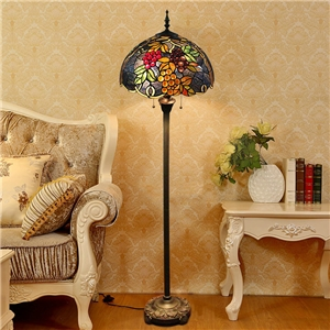 Modern Fruit Floor Lamp Elegant Tiffany Floor Lamp