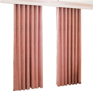 Brick Red Rose Curtain American Soft Jacquard Curtain Living Room Bedroom Study Chenille Fabric