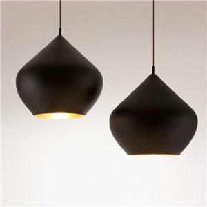 Contemporary Simple Pendant Light Stoving Varnish Jar Shape Pendant Light Dining Room Light