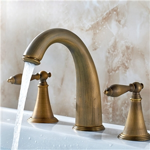 Classical Basin Faucet Antique Style Bathroom Sink Tap