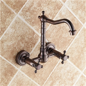 Traditional Basin Faucet Antique Style Bathroom Sink Tap