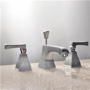 Modern Special Basin Faucet Widespread Bathroom Sink Tap