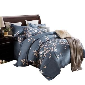 Modern Branch Bedding Set Soft Skin-friendly Bedclothes Pure Cotton 4pcs Duvet Cover Set