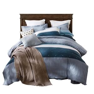 Contemporary Simple Bedding Set Soft Skin-friendly Bedclothes Pure Cotton 4pcs Duvet Cover Set