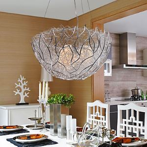 Artistic Pendant Light with 3 Lights