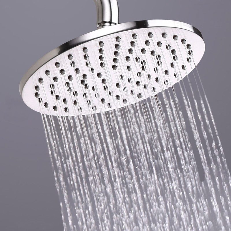 Modern Rain Shower Head Brass 8 10 12 Round Shower Head In