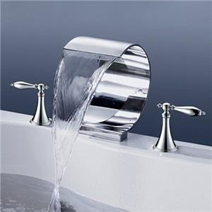Mooni Waterfall Tub Faucet Modern Elegant Bathtub Tap