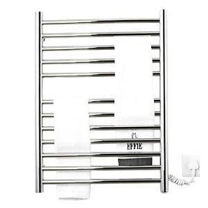 Stainless Steel Wall Mount Circular Tube Towel warmer Drying Rack
