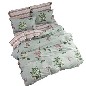 Rural Jasmine Bedding Set Pure Cotton Bedclothes Breathable 4pcs Duvet Cover Set
