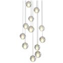 LED Crystal Ball Pendant Light Modern Crystal Pendant Light Bedroom Living Room Study Light