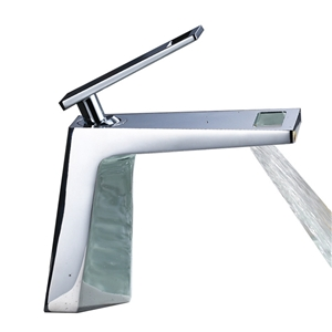 Widespread Bathroom Sink Faucet Modern Waterfall Bathroom Sink Tap