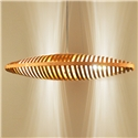 Hollow Boat Pendant Light Nordic Simple Wooden Pendant Light Bedroom Living Room Office Light