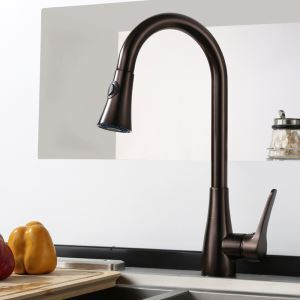 Antique Pull-out Kitchen Faucet Elegant Kitchen Tap