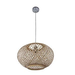 (In Stock)Bamboo Artistic  Pendant Light Living Room  Bedroom Dining Room Lighting Ideas