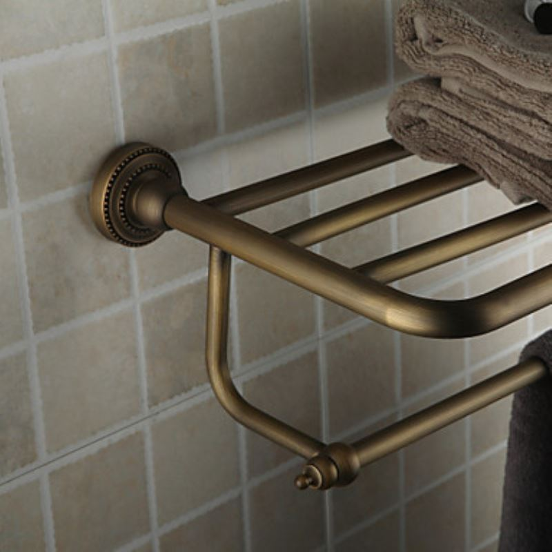 Bathroom Towel Bars Oil Rubbed Bronze 24 Inch Bathroom Shelf With Towel Bar