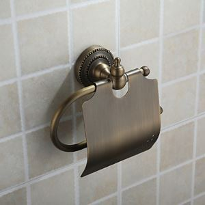 Oil Rubbed Bronze Wall Mount Toilet Roll Holder