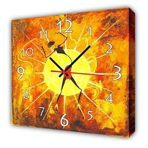 "12""-24"" Modern Style Dancing Wall Clock in Canvas"