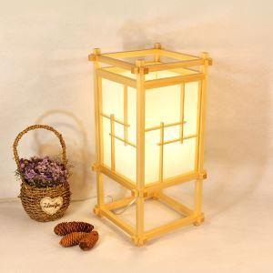 Japanese Artistic Table Lamp Creative Wooden Floor Lamp Living Room Bedroom Study Dining Room Lighting