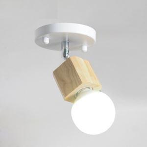 Simple Mini Spotlight Modern White Aisle Ceiling Light