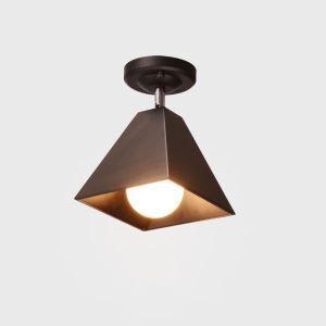 Industrial Iron Spotlight Four Prism Spotlight Aisle Ceiling Light