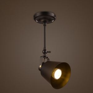 Rustic Iron Spotlight Countryside Vintage Ceiling Light