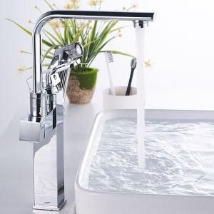 Modern Chrome Basin Faucet Special Bathroom Sink Tap