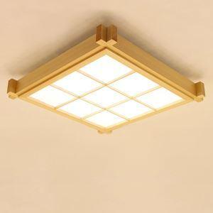 Creative Check Ceiling Light Japanese LED Ceiling Light Bedroom Balcony Aisle Lighting