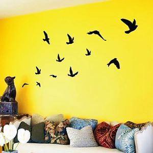 Birds Flying Wall Art Wall Stickers