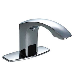 4 Inch Brass Bathroom Sink Faucet with Automatic Sensor (Cold)