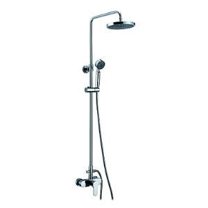 Contemporary Single Handle Adjustable Height Shower Faucet(Chrome Finish)