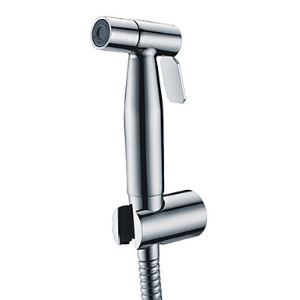 (In Stock) Contemporary Stainless Steel Chrome Finish Bidet Faucet Without Supply Hose And Shower Holder